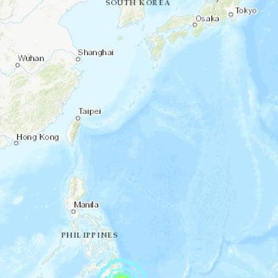 フィリピンM7.0 十勝地方M5.4 PNGでM5.2 父島M4.9の記事に添付されている画像