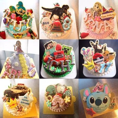 12月のオーダーケーキ達♪の記事に添付されている画像