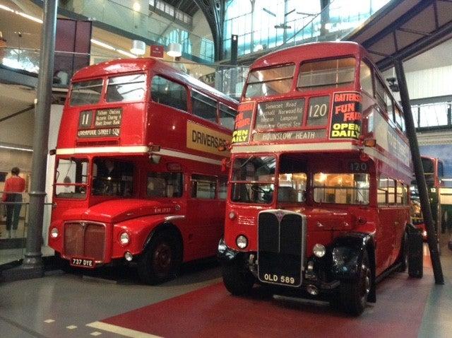 ロンドン交通博物館。 | 食べる...