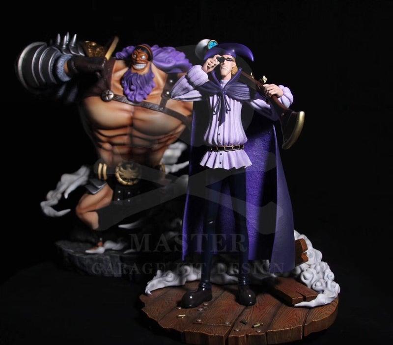 ワンピース フィギュア 黒ひげ海賊団 ヴァンオーガー Rufi Figureのブログ