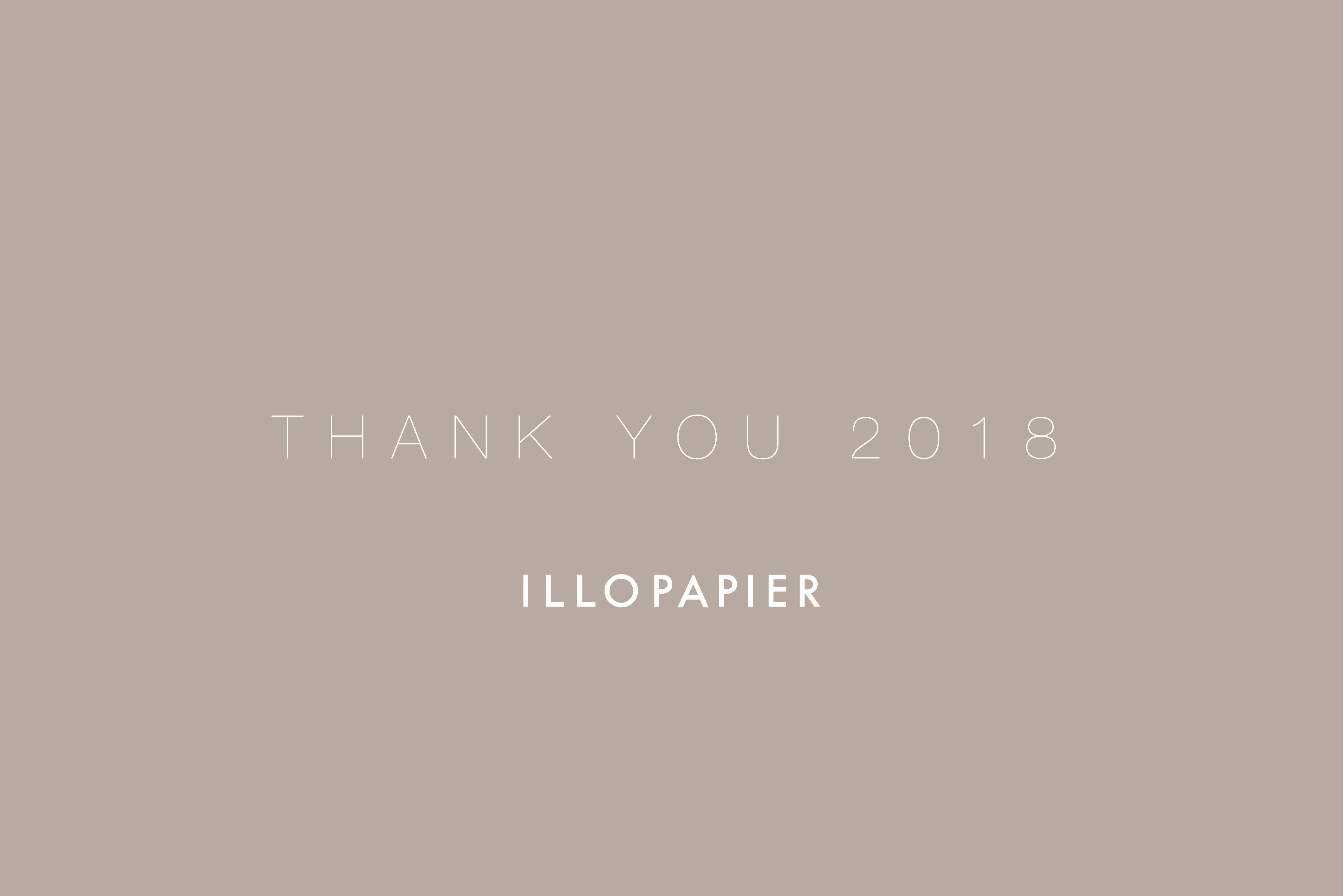 2018年ありがとうございました