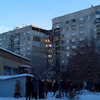▼唸声爆発現場のストリートビュー/ロシアの高層アパートでガス爆発3名死亡79名不明の画像