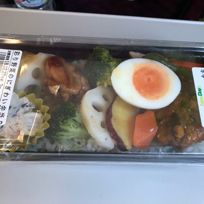 彩り野菜のにぎわい弁当+静岡麦酒の記事に添付されている画像