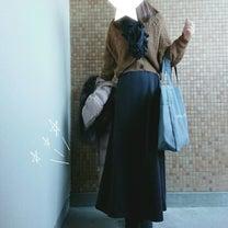 ママコーデ*しまむらドルマンカーデ×裏起毛マキシスカート♡DEAN&DELUCAの記事に添付されている画像