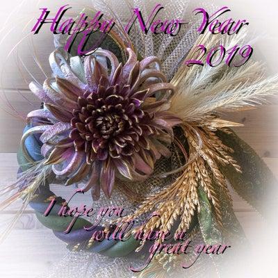 Happy New Year!Clay Flowerの記事に添付されている画像