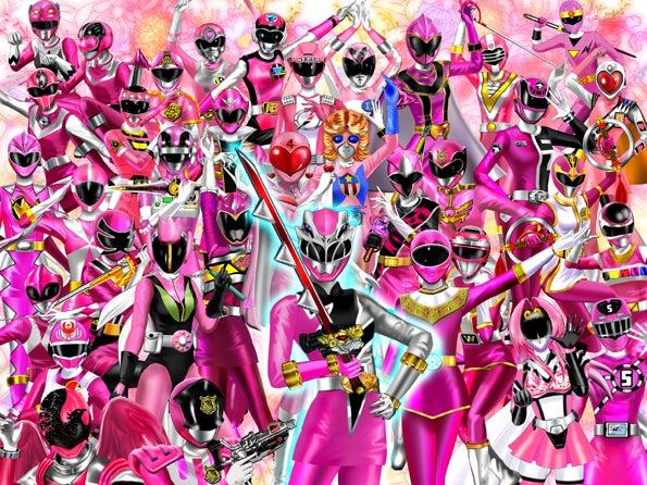 爆誕リュウソウピンク!!祝誕オーピンク珠緒さん!全戦隊ピンク超集合♪!!