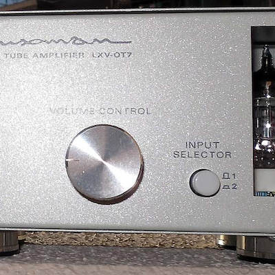 ONTOMO MOOK Stereo編「朗音!真空管アンプの愉悦」LXV-OT7の記事に添付されている画像