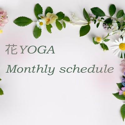 花YOGA月イチクラス1月予定の記事に添付されている画像