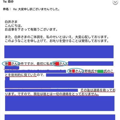 奈々さんの姉の「伝言」と、kmkrの「他人の彼女とエ●チした話」がセットだったのの記事に添付されている画像