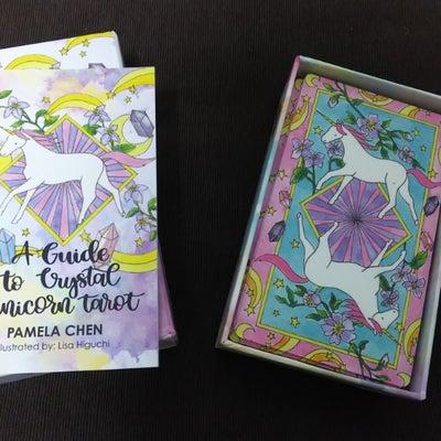 【カード好きな警備さんの】Crystal Unicorn Tarot✨【可愛いタの記事に添付されている画像