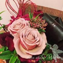 ★【オススメ花瓶とレッスン付】あなたに贈るフラワーアレンジメントの記事に添付されている画像