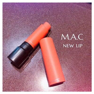 M.A.C♡Newlipの記事に添付されている画像
