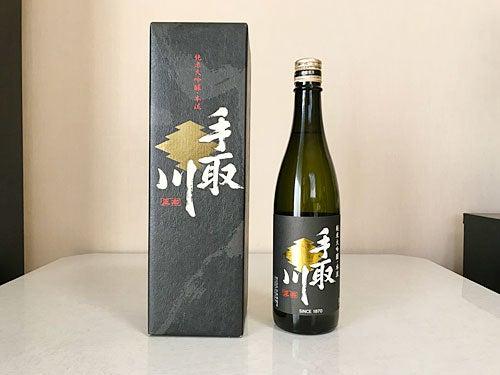 手取川 純米大吟醸・本流 20190104-1