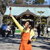 ZTV「金曜お昼は生放送!」@結城神社の記事に添付されている画像