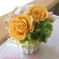 ご出産お祝いのミニアレンジ♪の記事に添付されている画像