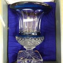 サンルイ  クリスタルガラス SAINT LOUIS  ベルサイユ 特大 花瓶 の記事に添付されている画像