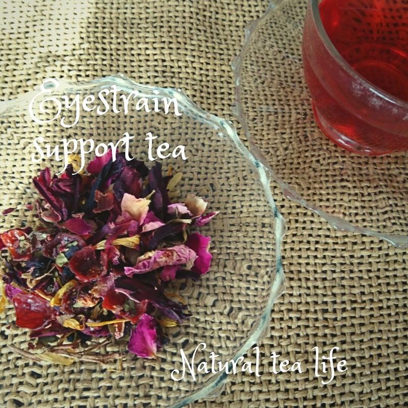 新商品ご紹介!眼精疲労にお勧め「Eyestrain support tea」