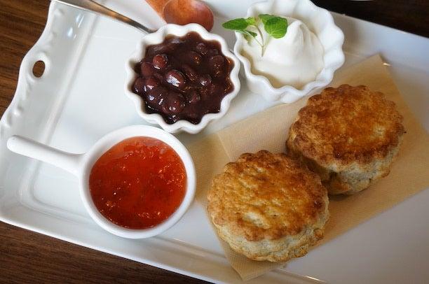 恵比寿 3cafe サンカフェ  スコーン