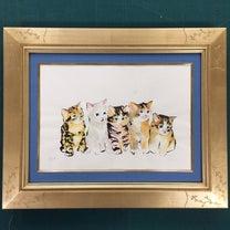 販売中のマリンカの作品☆ブロテッドライン画の記事に添付されている画像