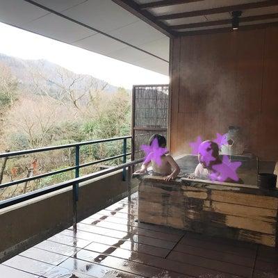 毎年の恒例なった、正月温泉の記事に添付されている画像