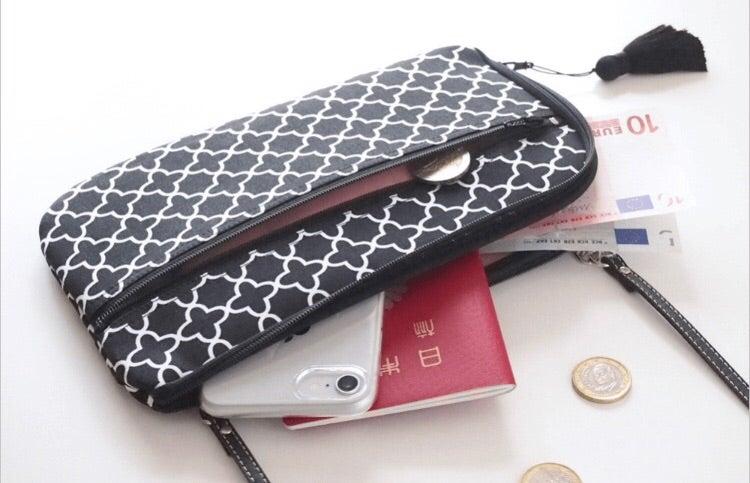 モロッカン柄のお財布ショルダーバッグ