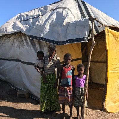 ケニア4日目 ダガムラ村 洪水避難民テントへの記事に添付されている画像