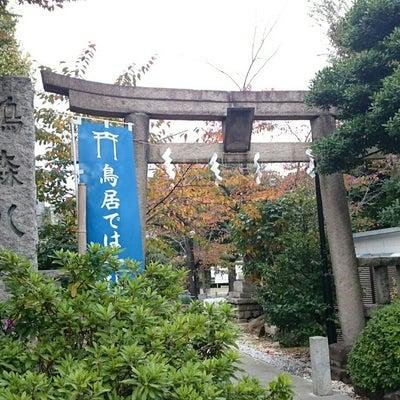 【渋谷区】鳩森八幡神社の記事に添付されている画像