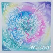 結晶の花  新春描き初め大会の記事に添付されている画像