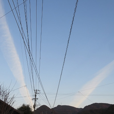 夕方の雲の記事に添付されている画像