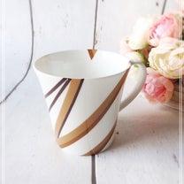 カリキュラム作品♡単色転写紙でデザインするマグカップの記事に添付されている画像