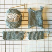 5本指手「袋を編みますよ~♪チャレンジしてみます「指導員養成科」テキスト作品。の記事に添付されている画像