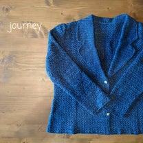 かぎ針編のジャケット完成♪かぎ針み「編指導員養成科」の最後の課題作です。の記事に添付されている画像