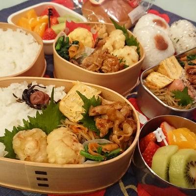 鶏天&豚ももの甘辛炒め弁当の記事に添付されている画像