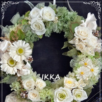 花嫁の母が作るウエルカムスペースに飾るウエルカムリース【ブライダルレッスン】の記事に添付されている画像