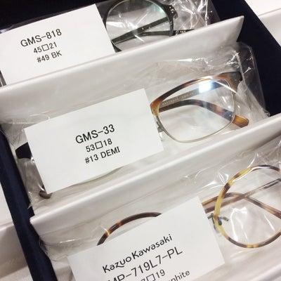 【増永眼鏡】GMSとKazuo Kawasaki が再入荷しましたよ!の記事に添付されている画像