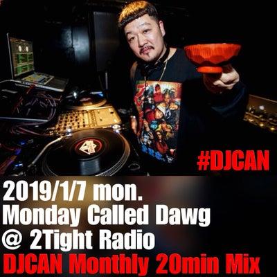 DJCAN Monthly 20min Mix January 2019の記事に添付されている画像