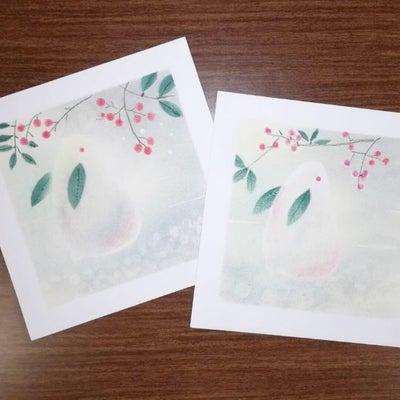 【パステルアート】今月のテーマ 雪うさぎの記事に添付されている画像