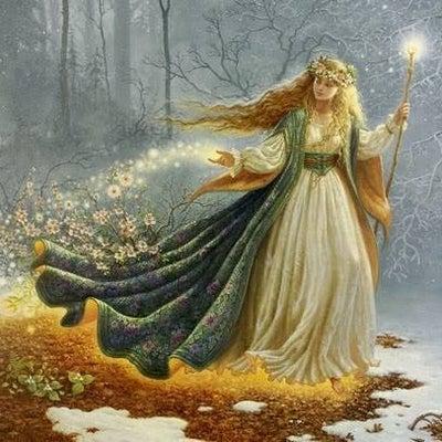 女神ダナ(ケルトの女神)の記事に添付されている画像