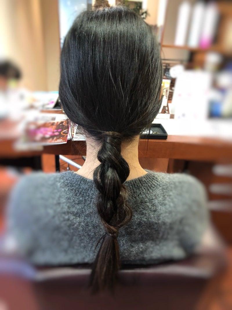 8a6631768fc3d 髪の毛伸ばし中ですが、マメにお手入れさせてもらっているおかげでいつも美髮をキープされてます