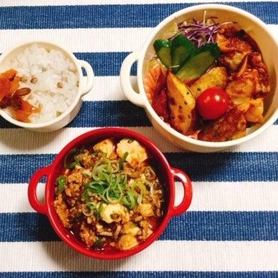 麻婆豆腐弁当・アナゴ天丼弁当・9分割弁当・全身筋肉痛~の記事に添付されている画像