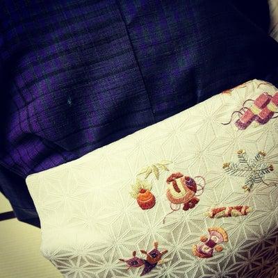 ほとめく ~ 郡上紬に宝尽くしの帯 ~の記事に添付されている画像