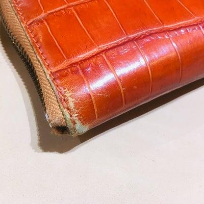 フェリージ財布のクリーニング&リカラーの記事に添付されている画像