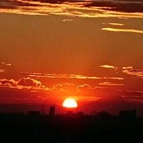夕日の記事に添付されている画像