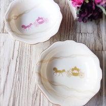 ポーセラーツ作品♡ノリタケの食器でポーセラーツ♡の記事に添付されている画像