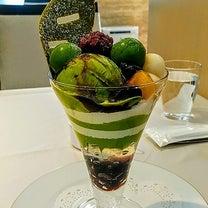 抹茶パフェ@和光ティーサロンの記事に添付されている画像