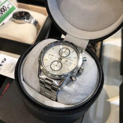 タグホイヤー カレラ 腕時計の買取入荷(๑˃̵ᴗ˂̵)の記事に添付されている画像