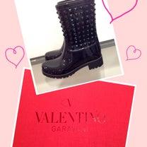 VALENTINO♡のレインブーツの記事に添付されている画像