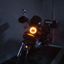 GN125H ヘッドライトH4化とイカリングLEDライトに変更。の記事に添付されている画像