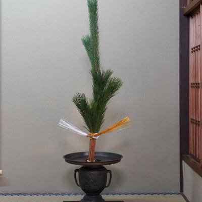 生け花教室の様子(お正月のお花:若松のお生花)の記事に添付されている画像