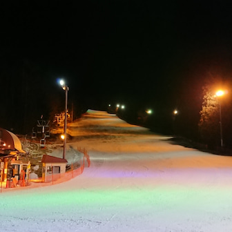 ショートスキー&SLフリー@駒ヶ根高原スキー場ナイター 20190111